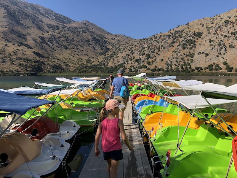 Kournas Süßwassersee auf Kreta