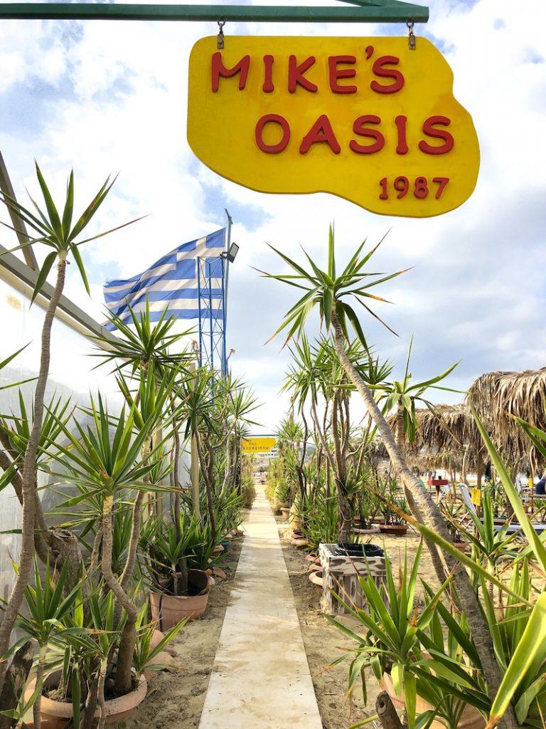 Mikes Oasis, Kreta