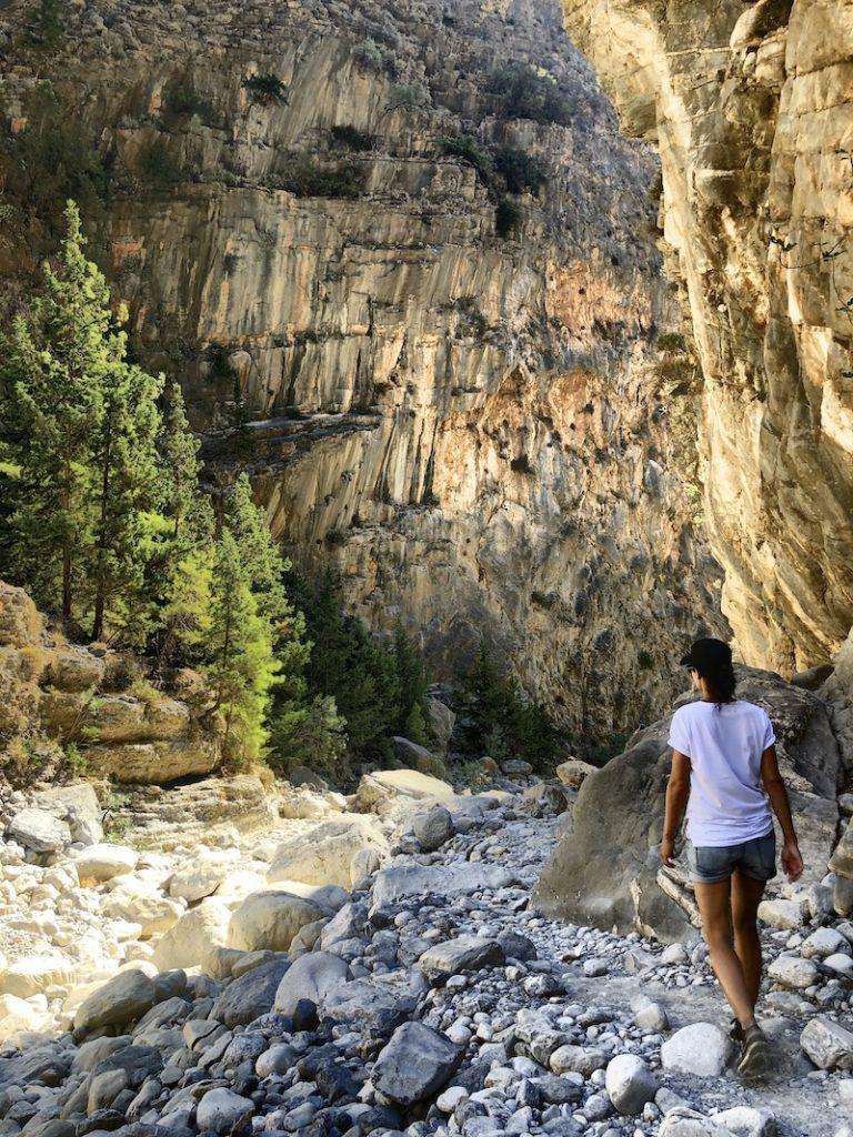 Samaria Schlucht Wanderung auf Kreta
