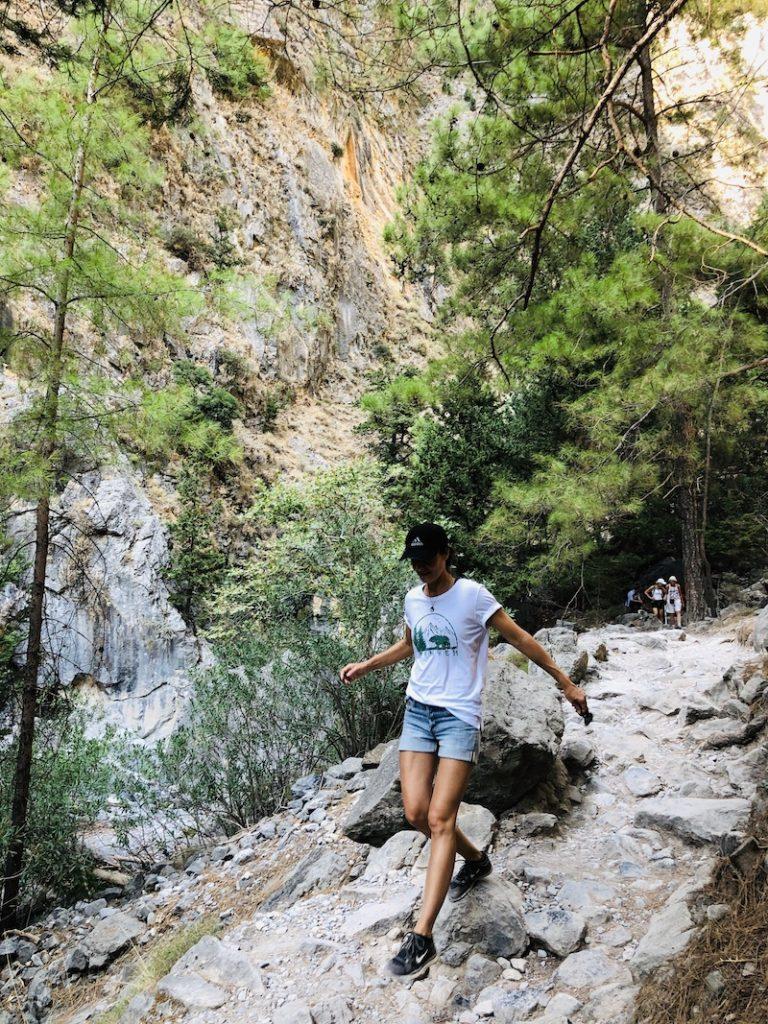 Wandern in der Samaria Schlucht