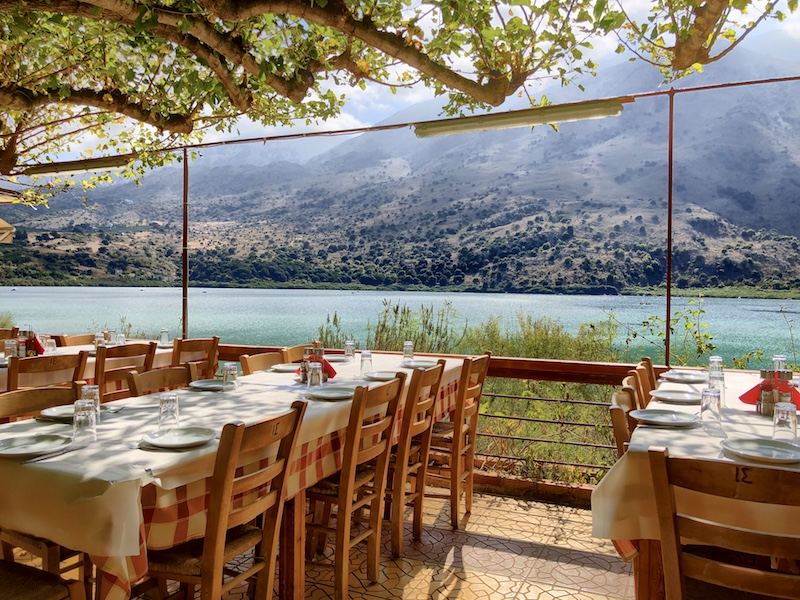 Kournas Süßwassersee, Kreta