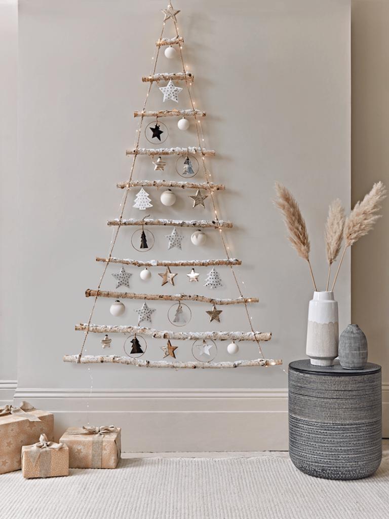 Nachhaltiges Weihnachtsfest - Weihnachtsbaum selbst gemacht