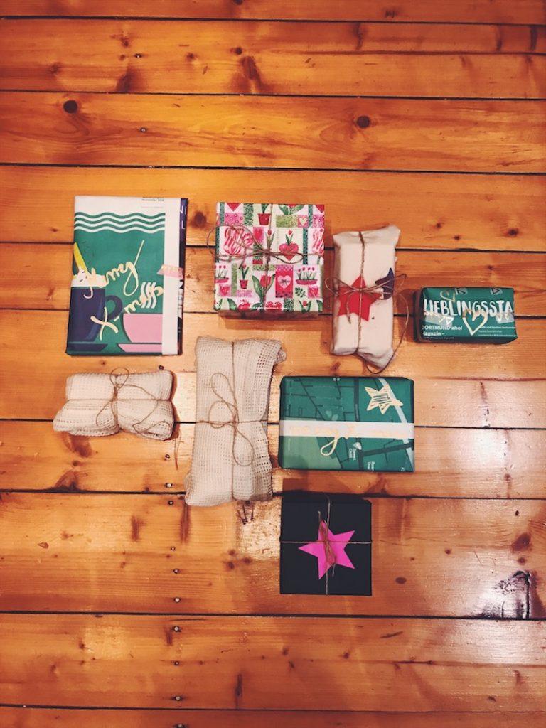 Nachhaltiges Weihnachtsfest - Geschenke nachhaltig verpacken