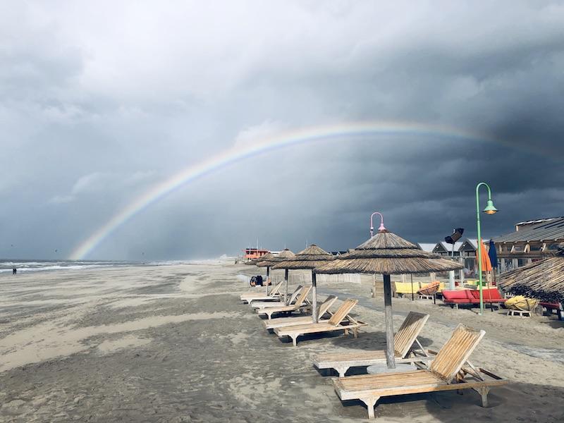 Regenbogen, Holland, Katwijk