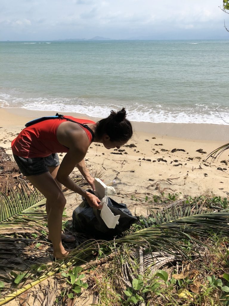 Cleanup auf Kho Phangan
