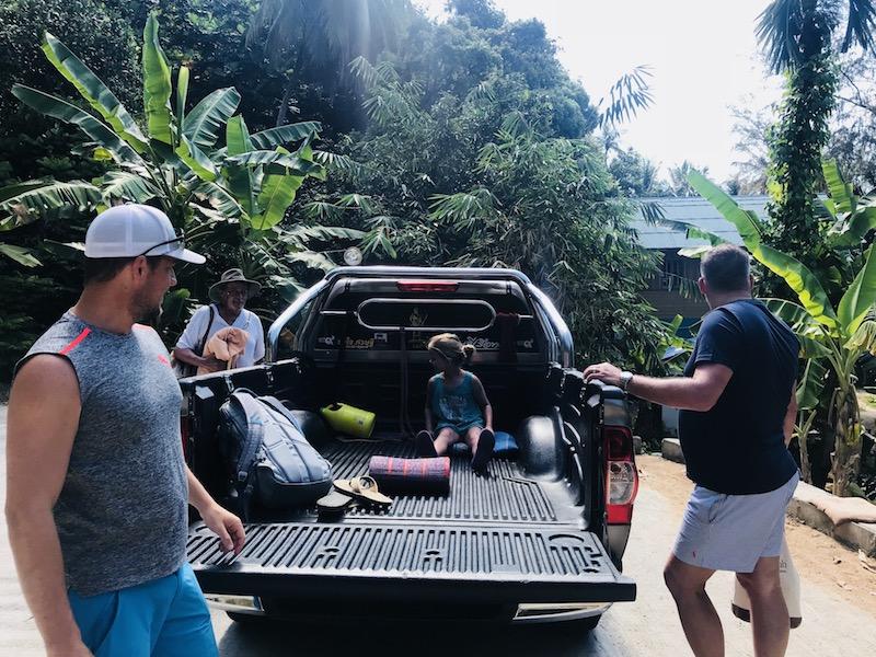 PickUp fahren auf Kho Phangan