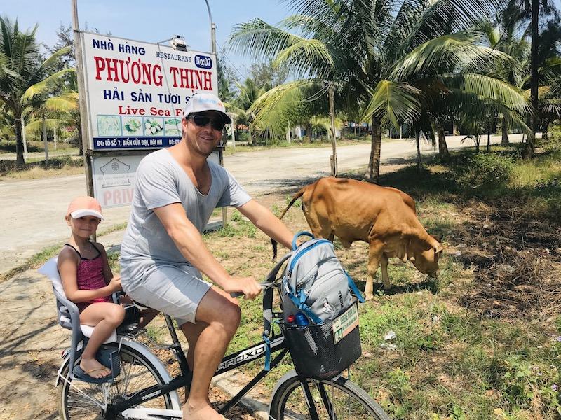 Fahrrad fahren in Hoi An