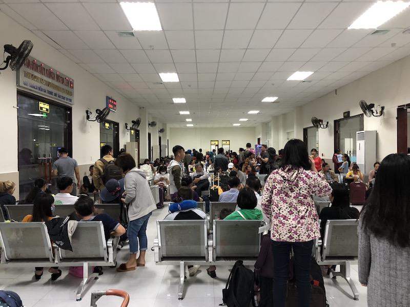 Wartehalle Bahnhof Da Nang