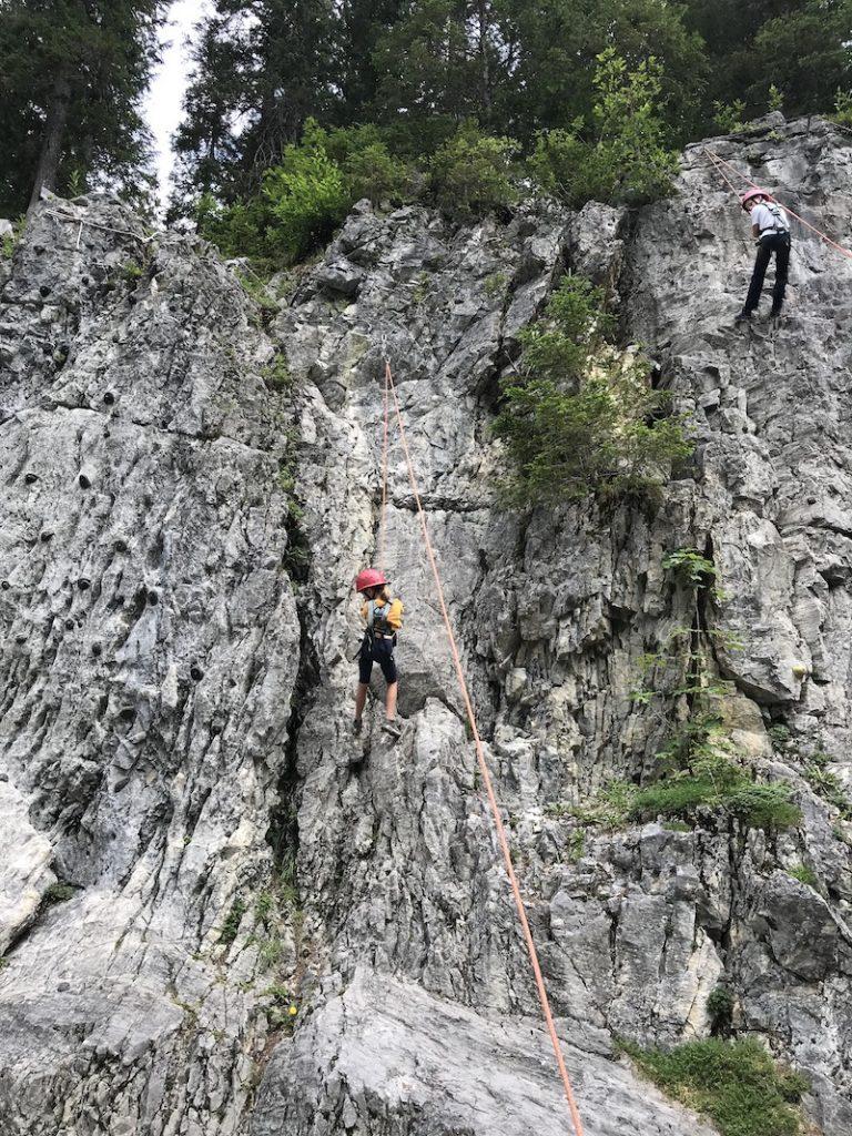 Outdoor Klettern Kleinwalsertal