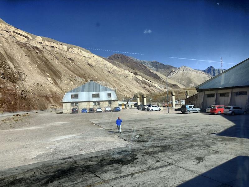 Anden Grenze Chile zu Argentinien