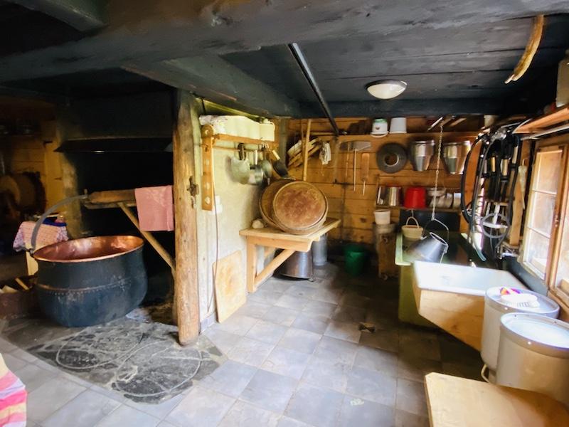 Käse per Hand herstellen, Buchrainer Alpe