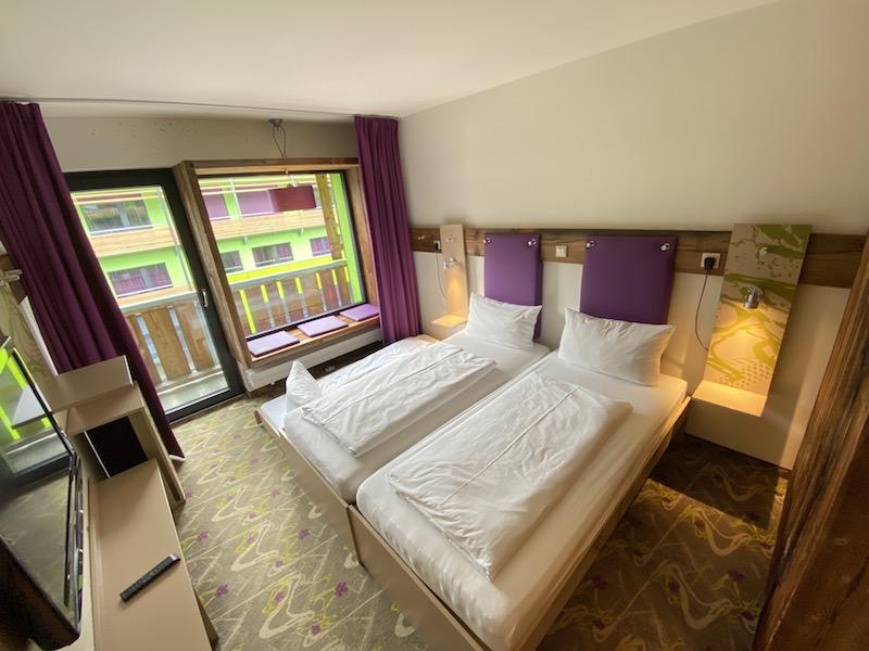 Zimmer im Explorer Hotel, Allgäu
