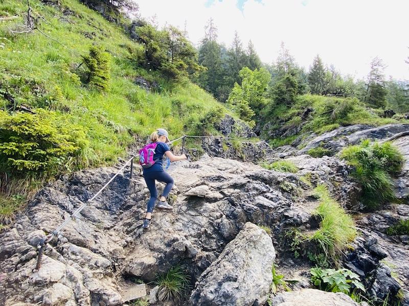 Wanderung zum Unteren Gaisalpsee
