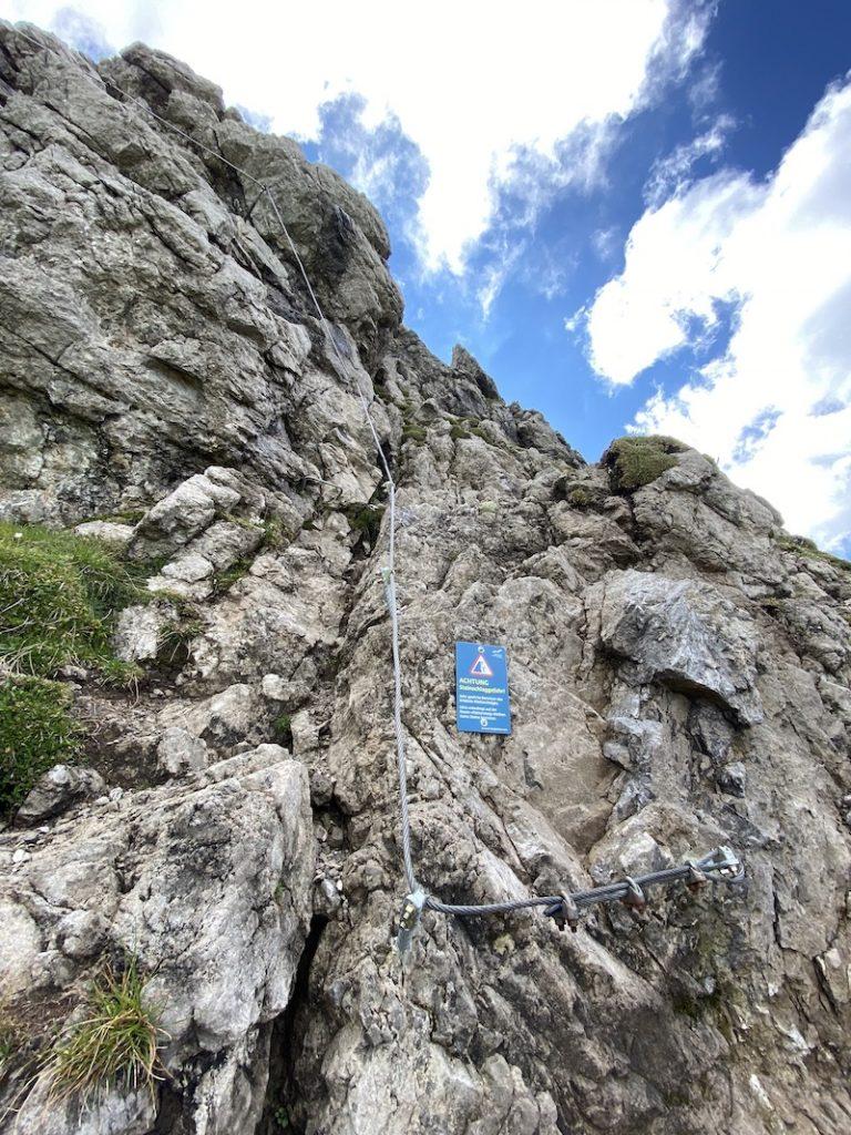 Klettersteig Kanzelwand
