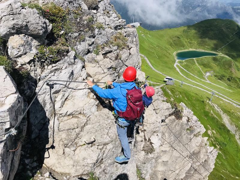Klettersteig Kanzelwand, Bergschule