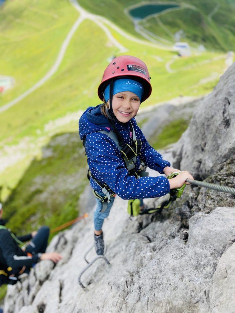 Klettersteig Kanzelwand, Bergschule Kleinwalsertal