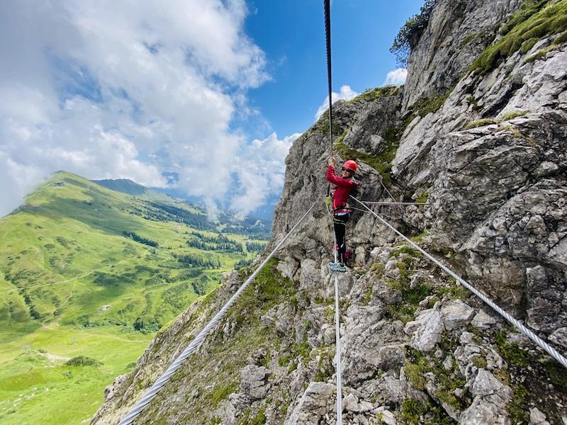Klettersteig Kanzelwand, Kleinwalsertal