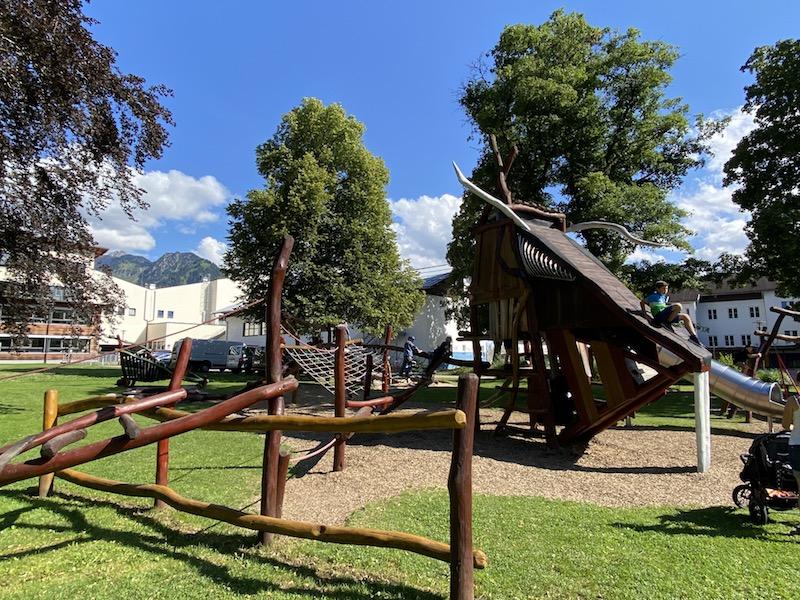 Spielplatz in Oberstdorf