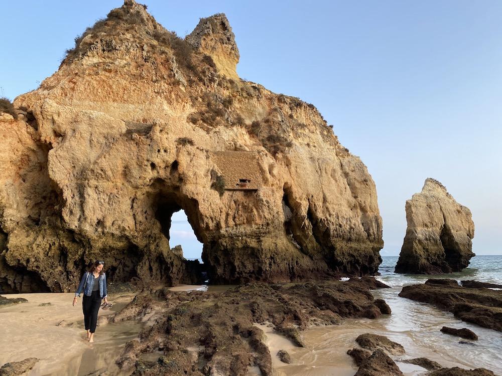 Praia dos Tres Irmaos, Algarve Küste