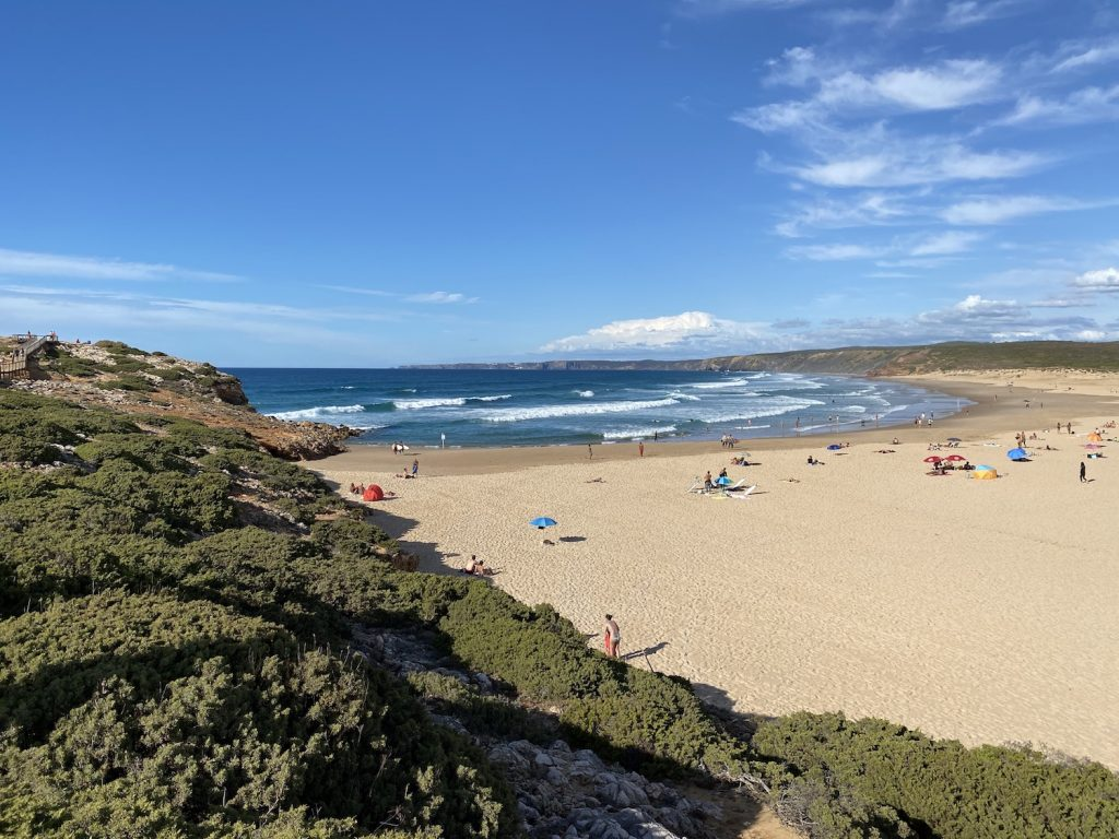 Praia de Bordeira, Algarve Küste
