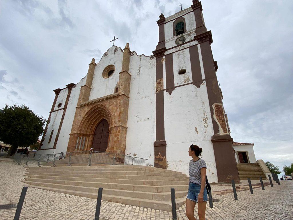 Kathedrale in Silves, Algarve Küste, Portugal