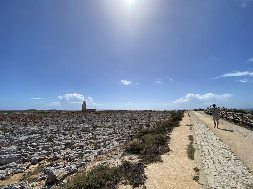 Rundweg, Fortaleza de Sagres, Portugal