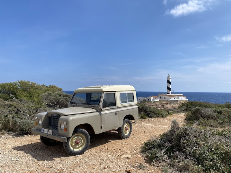 Leuchtturm am Cap de Figuera