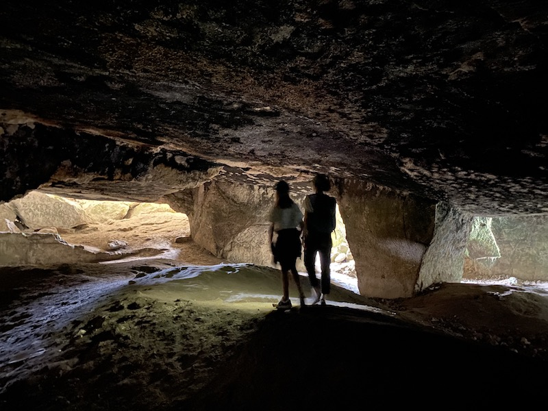 Höhlen, Mallorca Klippenwanderung