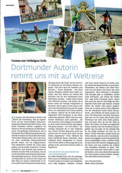 Artikel zu Herz schlägt Kopf im Top Magazin Dortmund