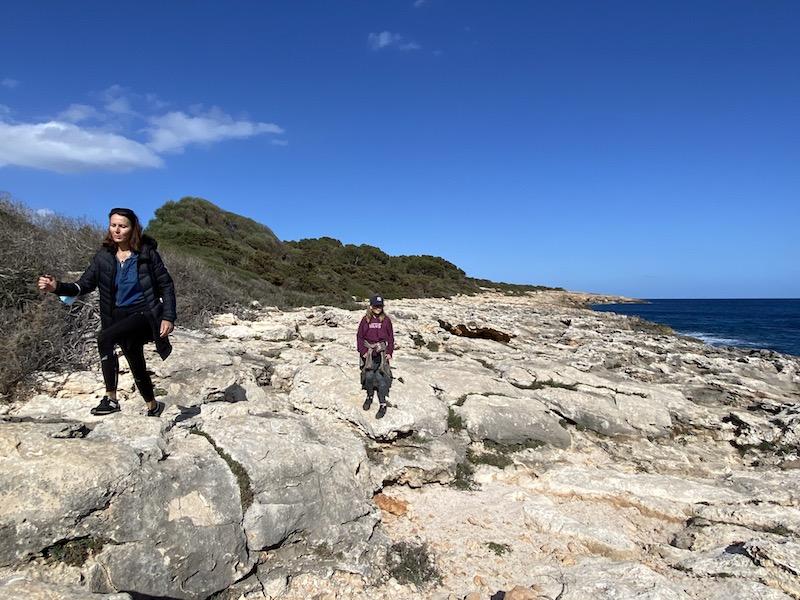Wanderung nach Sa Coma von Cala Millor